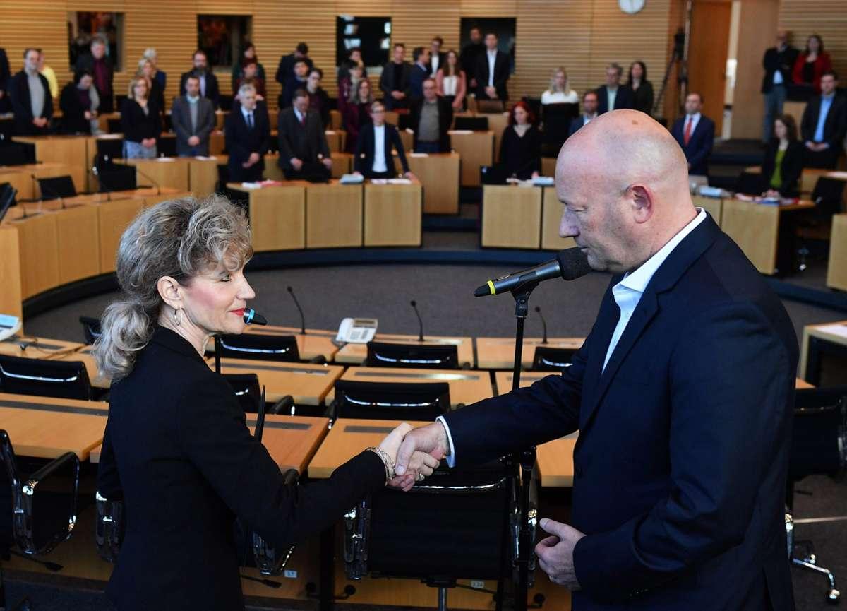 Ministerpräsident Thüringen Wahl